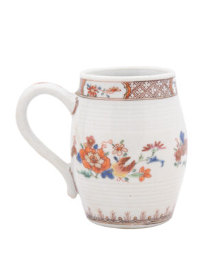 18th Century Chinese Export Famille Verte Mug