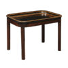 19th Century Black Paper Mache Tray Table