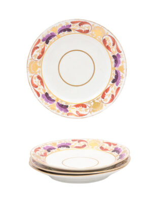 19th Century English Derby Plates