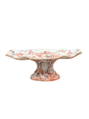 19th Century English Ironstone Compote