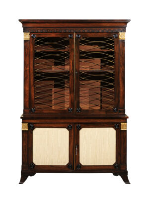 19th Century English Rosewood Bookcase