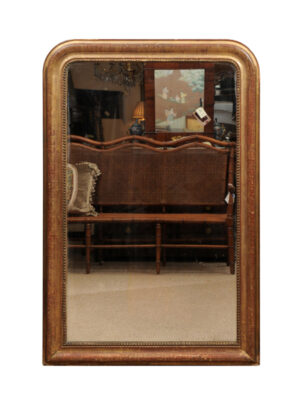 19th Century Louis Philippe Mirror with Greek Key