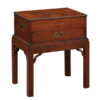 19th Century Walnut Silver Chest on Stand