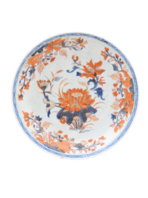 Chinese Export Imari Low Bowl