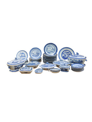 Collection Blue & White Chinese Export Porcelain