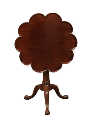 George III Mahogany Tilt Top Table