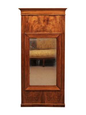 Neoclassical Mirror in Mahogany