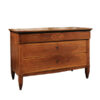 Neoclassical Style Inlaid Walnut Commode