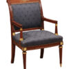 Neoclassical Style Mahogany Armchair