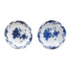 Pair Blue & White Delft Chargers