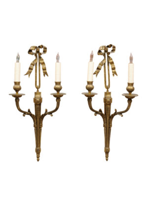 Pair Louis XVI Style Sconces