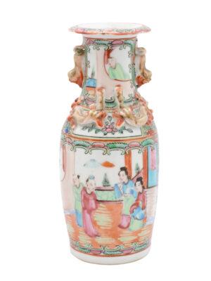Petite Rose Medallion Vase