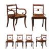 Set 19th Century Regency Chairs
