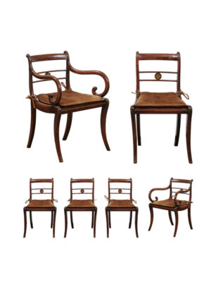 Set 19th Century Regency Chairs