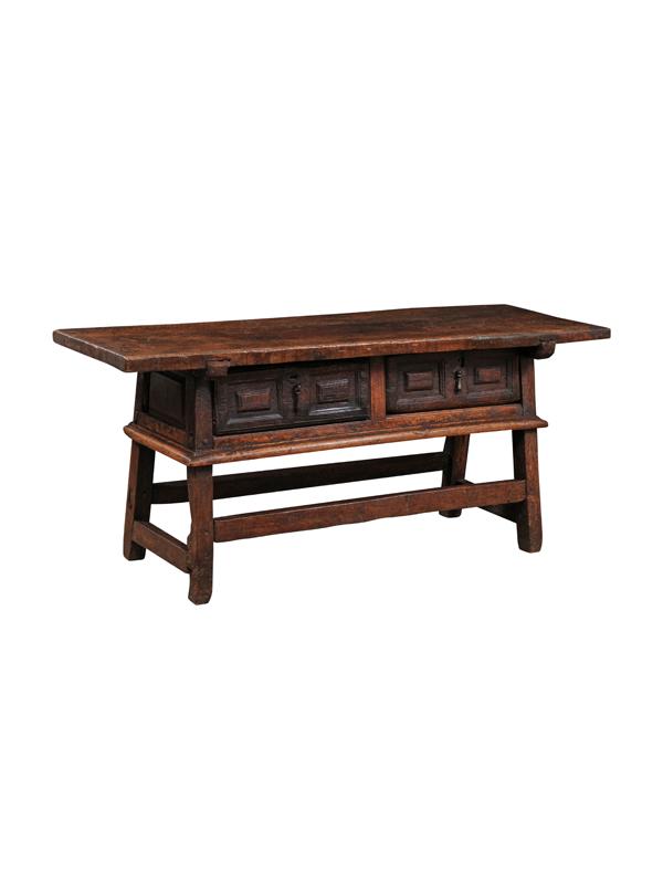 17th Century Italian Walnut Console Table
