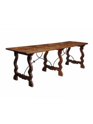 17th Century Spanish Walnut Hall Table