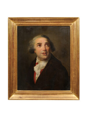 19th Century Giltwood Framed Portrait of a Gentleman