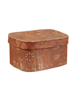 19th Century Paper Mache Box