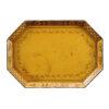 19th Century Yellow Tole Tray