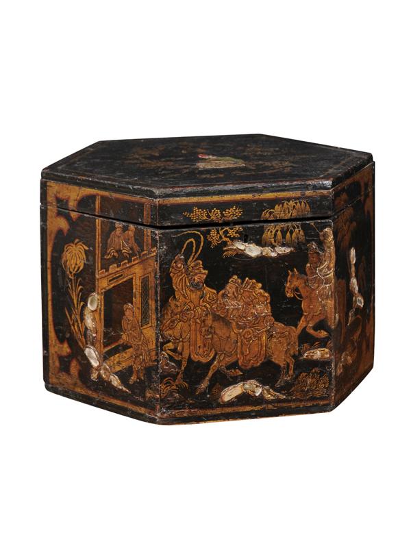 Chinoiserie Hat Box
