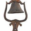 Longhorn Form Cast Iron Bell