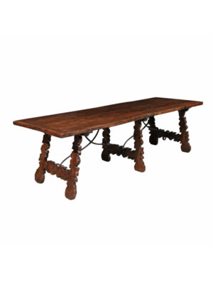 Spanish Walnut Dining Table