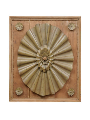 18th Century Carved Architectural Panel