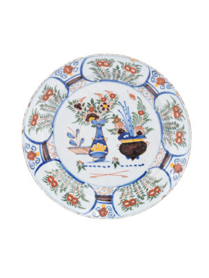 18th Century Faience Charger