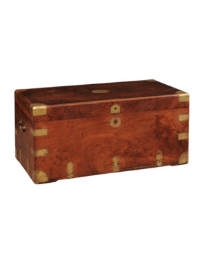 19th Century English Campaign Trunk