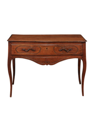 19th Century Louis XV Style Walnut Console Table