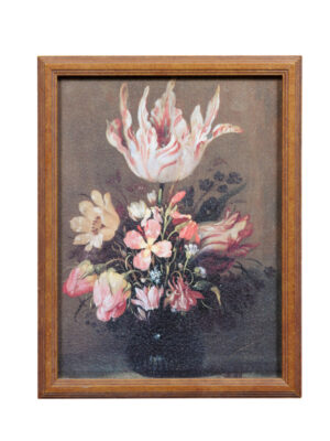 20th Century Framed Floral Still Life