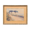 Early 20th Century Framed Watercolor Landscape