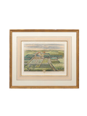 Framed 18th Century English Landscape Engraving