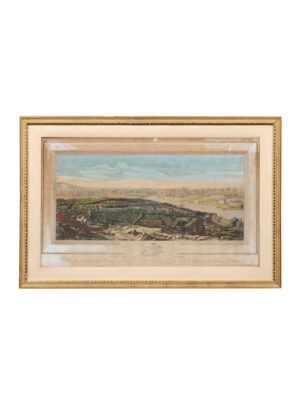 Framed 18th Century French Landscape Engraving