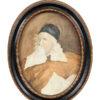Oval Framed Portrait Inigo Jones
