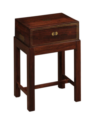 Rosewood Lap Desk on Stand