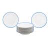 Set of 11 French Porcelain Plates