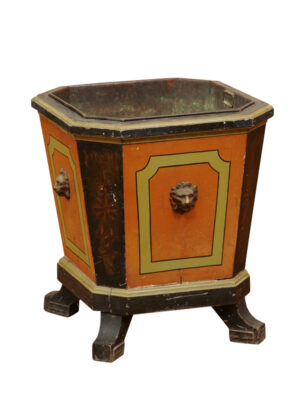 19th Century Painted Planter