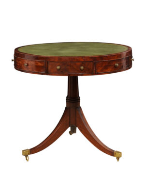19th Century Regency Drum Table