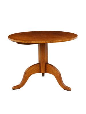 Biedermeier Style Walnut Center Table