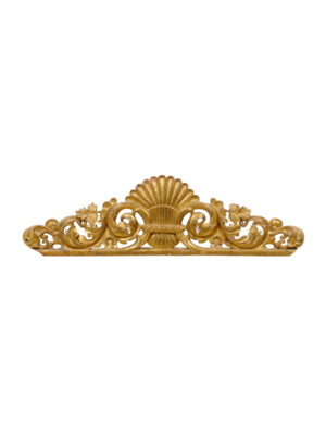 Carved Giltwood Architectural Element
