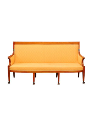 French Directoire Sofa in Fruitwood