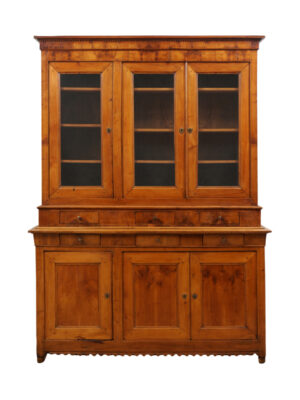 Louis Philppe Style Walnut Bookcase