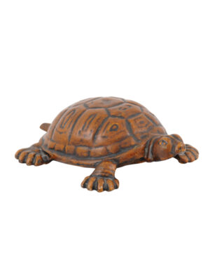 Painted Cast Iron Turtle Doorstop