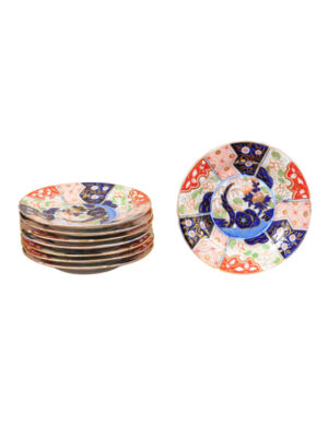 Set 8 Money Tree Porcelain Plates