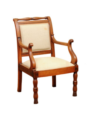 19th Century French Walnut Armchair