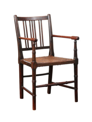 19th Century Mahogany & Cane Child's Chair