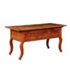 Louis XV Style Walnut Console with Cabriole Legs