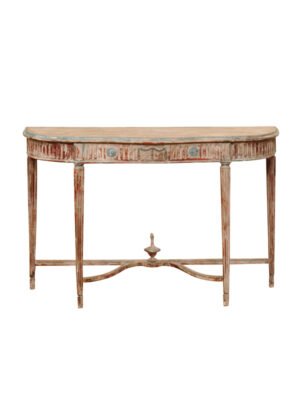 Neoclassical Style Painted Console