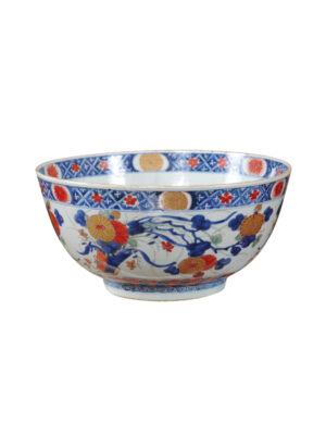 18th C Chinese Export Imari Bowl